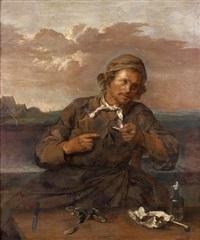 le mangeur de moules by frans hals the elder