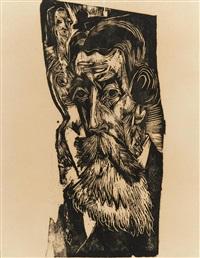 Eine Künstlergemeinschaft Ernst Ludwig Kirchner Kunstpostkarte