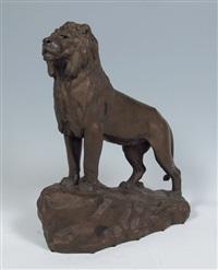lion by françois auguste hippolyte peyrol
