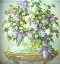 bouquet de lilas by pavel karoliov
