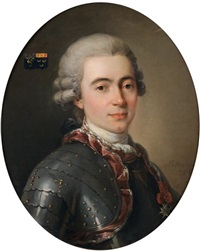 portrait de jean philippe gui le gentil by ivan iacovlevitch peskorskï