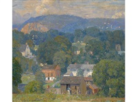 country village by daniel garber