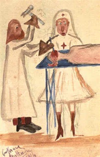 la trepanation by guillaume apollinaire