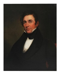portrait of george wilmer ford: born 1795; war of 1812 by samuel f.b. morse