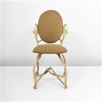 antler side chair by arthur court