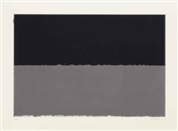 gulf, from new york ten by brice marden