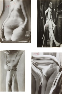 selected distortions (4 works) by andré kertész
