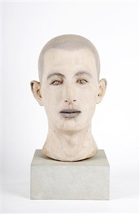 head of a man by john r. davies
