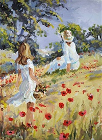collecting poppies by lorna millar