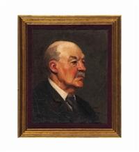 portrait of winslow homer by frank duveneck
