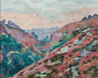 vallée de la creuse by armand guillaumin