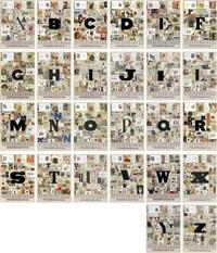 an alphabet (portfolio of 26) by peter blake