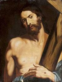 le christ portant sa croix by werner van den valckert