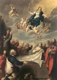 the assumption of the virgin by pieter abrahamsz ykens