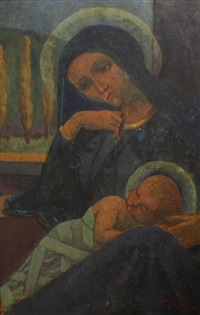 madone et enfant by paul sérusier