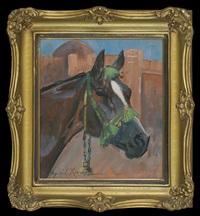 horse's head by woiciech (aldabert) ritter von kossak