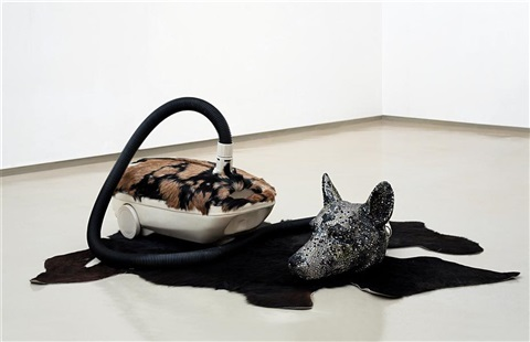 hungry dogs eat dirty pudding by bharti kher