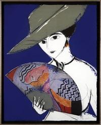 dama con sombrero by manolo valdés