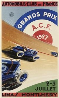 grands prix a.c.f. by alphonse noel