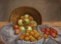 früchtestillleben by carl massmann