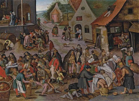 the seven acts of mercy by pieter brueghel the younger