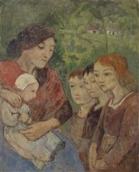 mère et enfants by paul sérusier