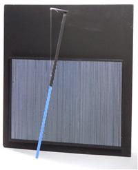 incline bleu et noir by jesús rafael soto