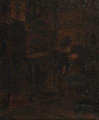 intérieur d´église by xavier mellery