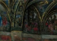 wnętrze kościoła by casimir stabrovsky