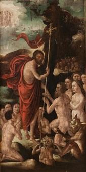 le christ aux limbes (recto-verso) by flemish school (16)