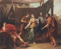l'affliction d'achille devant le départ de briséis by laurent pécheux