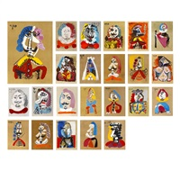 portraits imaginaires/imaginary portraits (23 works) by pablo picasso