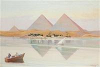 piramidy w kairze by aleksander laszenko