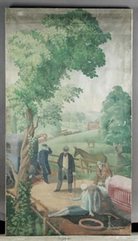 an english holiday - the puncture by mary adshead