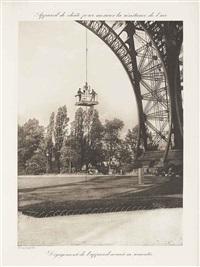recherches expérimentales sur la résistance de l'air exécutées à la tour eiffel (bk w/20 works) by gustave eiffel