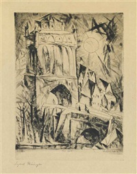 the gate by lyonel feininger