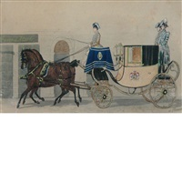 the royal coach by alexander ritter von bensa