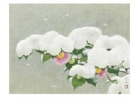 spring and snow by kayo yamaguchi
