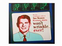 ronald reagan by andy warhol