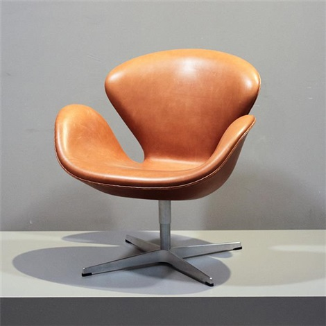 Lounge Sessel Swan Chair Modell 3320 Von Arne Jacobsen Auf Artnet