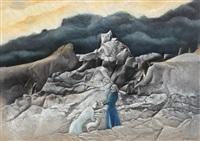 scenă biblică 3 (jidovul ratacitor) by paul ackermann