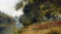l'étang à millemont by antoine chintreuil