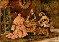 reunión con el cardenal by eduardo zamacois y zabala