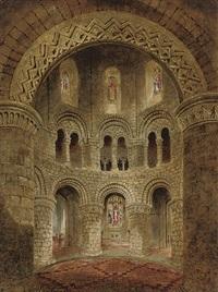 the round church, cambridge by joseph murray ince