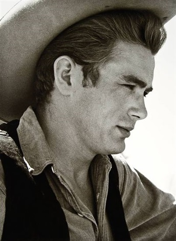 james dean on the set of giant marfa texas by sid avery