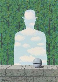 la belle promenade by rené magritte