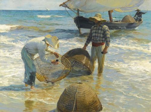 pescadores valencianos valencian fishermen by joaquin sorolla y bastida