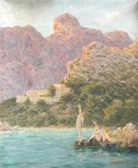 jovenes en la costa by pere isern alié