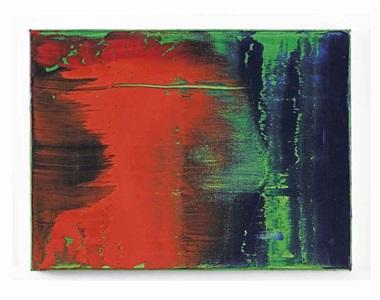 grün blau rot by gerhard richter