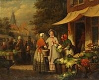 la marchande de légumes by léonard saurfelt